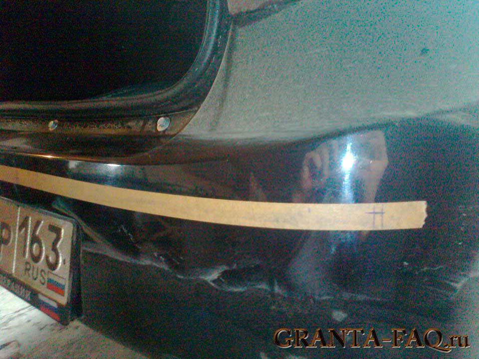 Установить парктроник своими руками на лада гранта